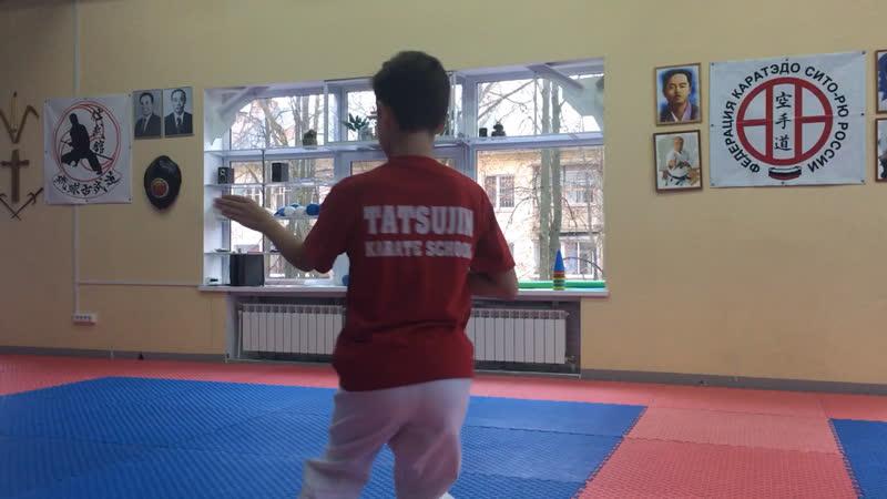 Мацумура Бассай/. Matsumura Bassai Тимофей Подплёта 11 лет
