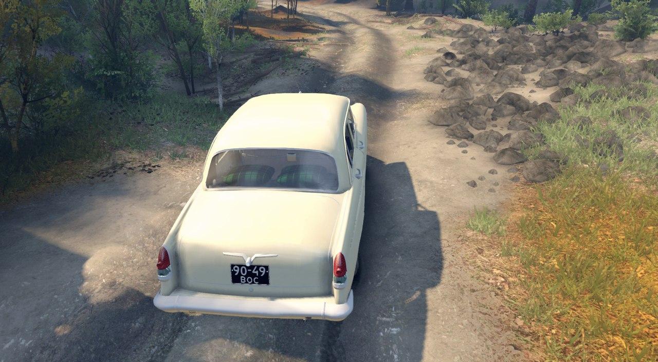 Газ-21 для версии 13.04.15 для Spintires - Скриншот 3