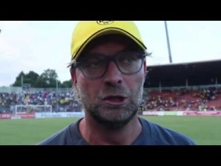 Löwen TV - KSV vs BVB 1:4 / Bender und Klopp im Interview, 15.07.14