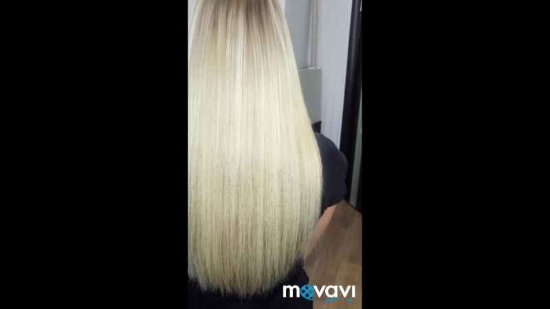 130 прядей 50 см🍭 Наращивание ШИКАРНЫХ волос в Севастополе