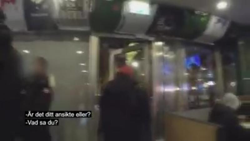 Stockholm - Polizei vs. Jugendliche Migranten