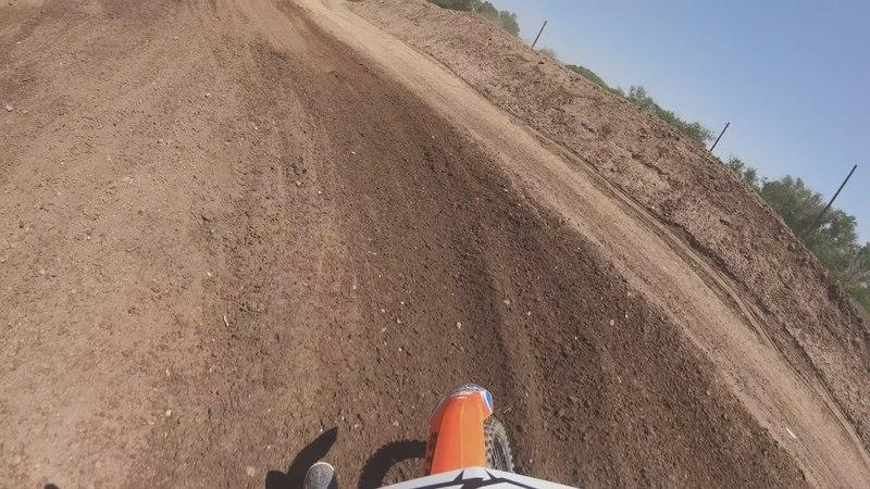 Tallon Lafountaine rips a 250 Two-Stroke | GoPro Onboard | TransWorld Motocross