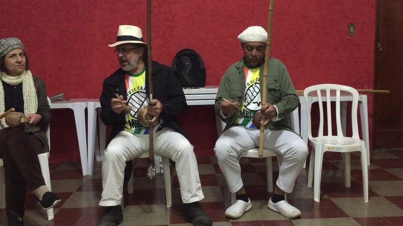 UNICAPOEIRA: Gr. Meia Lua/26abr62. Clube Cultural Tiguera. Polêmico, Professor, Ana. Som. 01ago18