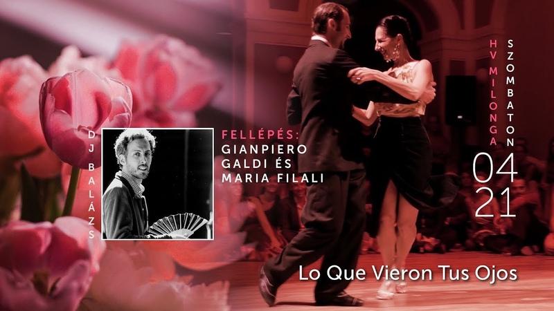 Gianpiero Galdi Maria Filali - Lo Que Vieron Tus Ojos