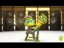 Смешные мультики пародия поют Сумасшедшие Танцующие лягушки Ой мама не женюсь