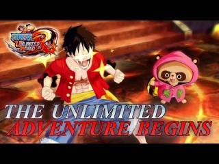 One Piece Unlimited World Red - PS3/PS VITA/3DS/WII U - The unlimited adventure begins (Trailer)