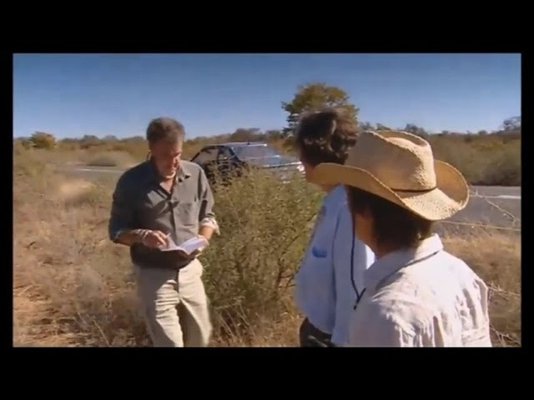 Top Gear - спец-выпуск в Ботсване, вырезанный эпизод (Русские субтитры)