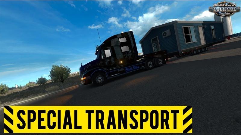 American Truck Simulator - DLC Special Transport