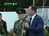 Инцидент во время звучания гимна России
