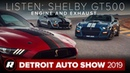 2020 Ford Mustang Shelby GT500 begs to be seen and heard | Detroit 2019