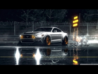 Ford Mustang GT White (Night)
