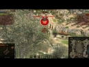 AMX 12T VS 2 STRV затащил укрепы При 99 захвата