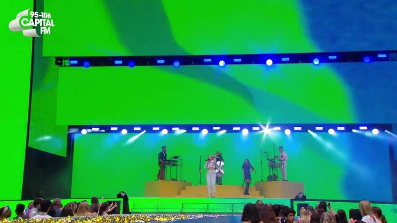 Clean Bandit 'Rockabye' ft Anne Marie Sean Paul live at Capital's