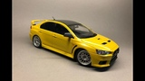 Aoshima Mitsubishi Lancer Evolution X Full Build Step by Step