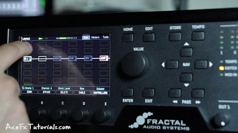 Axe-Fx III - Basic Navigation