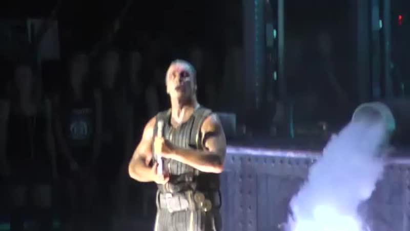 Rammstein - Seemann Live Capital of Rock Wroclaw Polska 27 08 2016