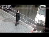 Кокорин и Мамаев избивают водителя ведущей Первого канала