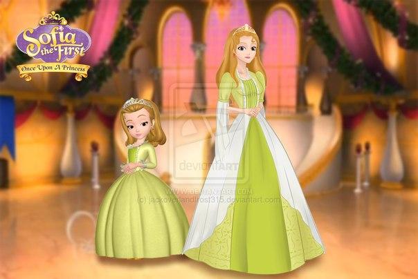 Маникюр для Принцессы Софии Прекрасной
