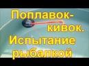 Поплавок- кивок Испытание рыбалкой