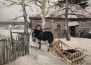 В музей без поводка Константин Коровин Зимой