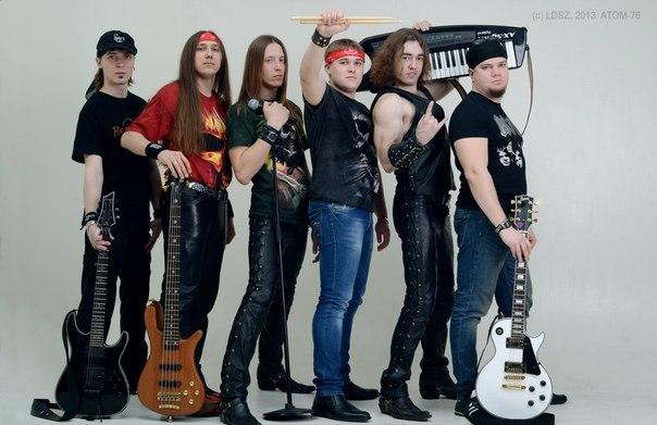 Кавер-версии песен группы АРИЯ от группы АТОМ-76