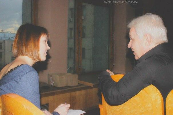 Александр Дмитриевич Хохлов и Юлия Похилько. Фотограф: Медведев Вячеслав.