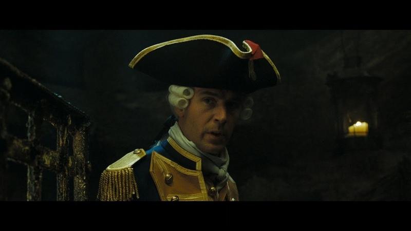 Джеймс Норрингтон помогает сбежать Элизабет и команде. Прихлоп убивает Джеймса Норрингтона. HD