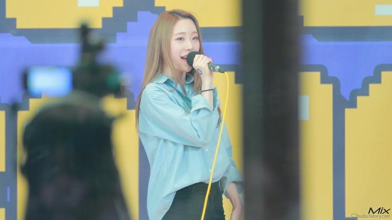 [Fancam] 181120 TAEYEON 11:11 COVER by YEONJUNG(WJSN) on Idol Radio @ Yeonjung