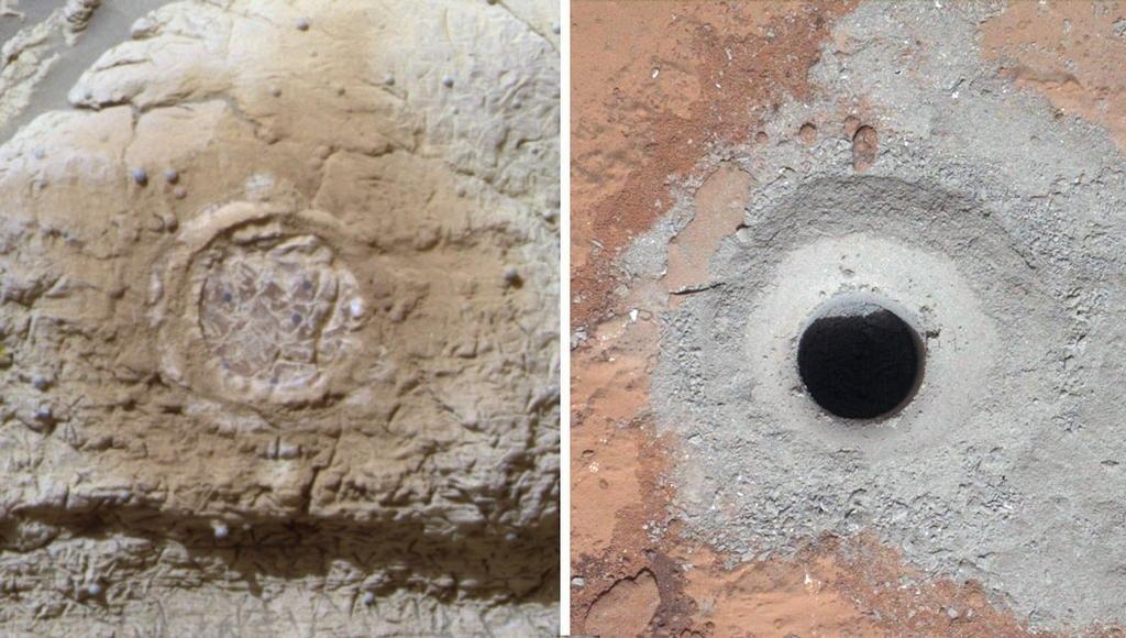 Дірка в Марсі