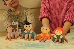 Пальчиковые игрушки из бумаги. Шаблоны… (10 фото) - картинка