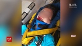 15-рчний хлопець зрвався з залзничного мосту в Харков