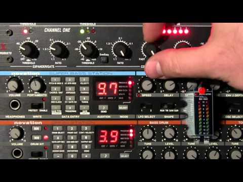 909 Kick meets dbx 266XL (∞:1, hard knee)