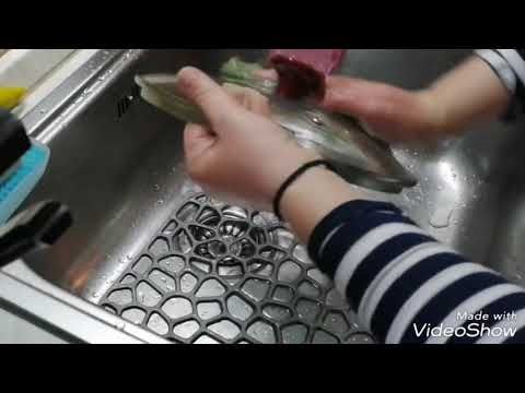 Салфетка для мытья посуды greenway отмывем жир