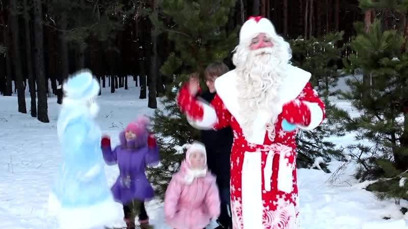 В Пинске появился Дед Мороз (режиссёрская версия)
