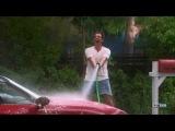 Eddie Stark (Brad Garret) Washing his Car. Cherry Pie. Till Death