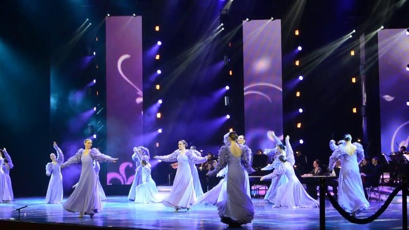 2018.12.04 Москва. Кремль. Театру танца Гжель-30 лет (фрагменты концерта)
