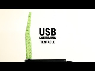 USB Squirming Tentacle from ThinkGeek