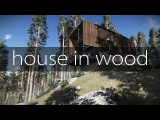 Lumion 3D + SketchUp - House in wood