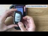Testing the Hyundai Mistra smart key frequency and chip type via VVDI