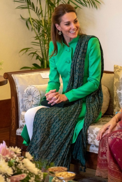Кейт Миддлтон и принц Уильям на встрече с президентом и премьер-министром Пакистана