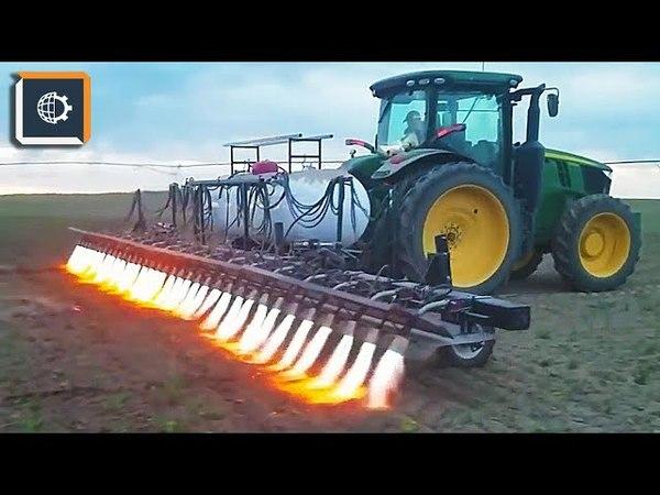 Такой Обработки Почвы ВЫ еще НЕ ВИДЕЛИ. Невероятная сельхозтехника