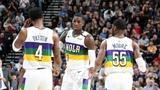 NBA New Orleans Pelicans vs Utah Jazz Mar 4, 2019