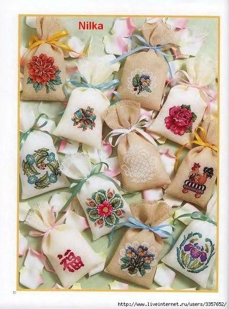 Маленькие схемы для вышивки