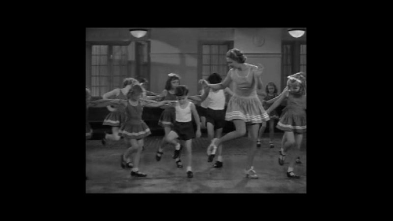 Ruby Keeler Shows The Kids A Few Tap Dance Steps