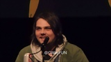 NC Comicon Day 2 Panel 3 Find Your Voice wGerard Way