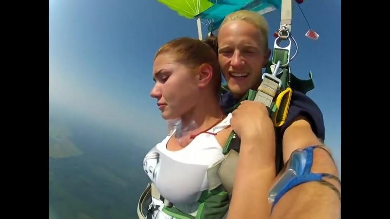 Прыжок с парашютом - МИШААААААА