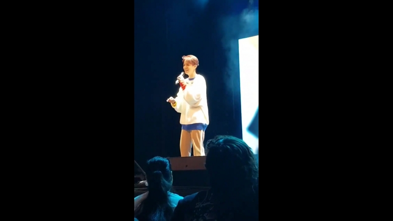 Talk at Fanmeeting in Toronto (180519)