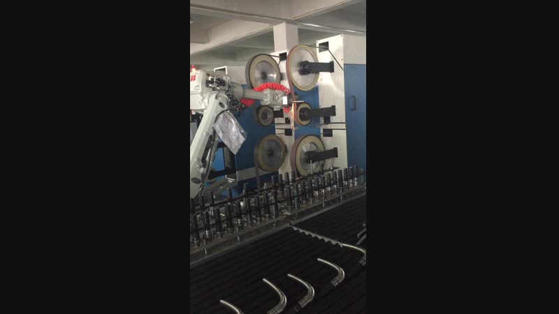 Robotic Polishing System for Bath Fittings