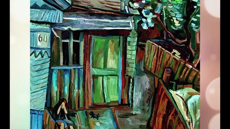 Художник Виктор Шарыгин (город Ишимбай, проект «Любимые художники Башкирии»)