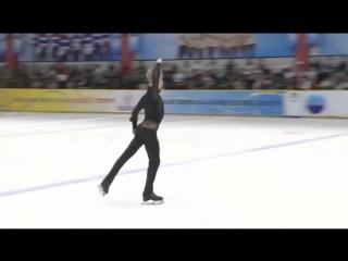 Artem lezheev. asian open trophy 2018. fs